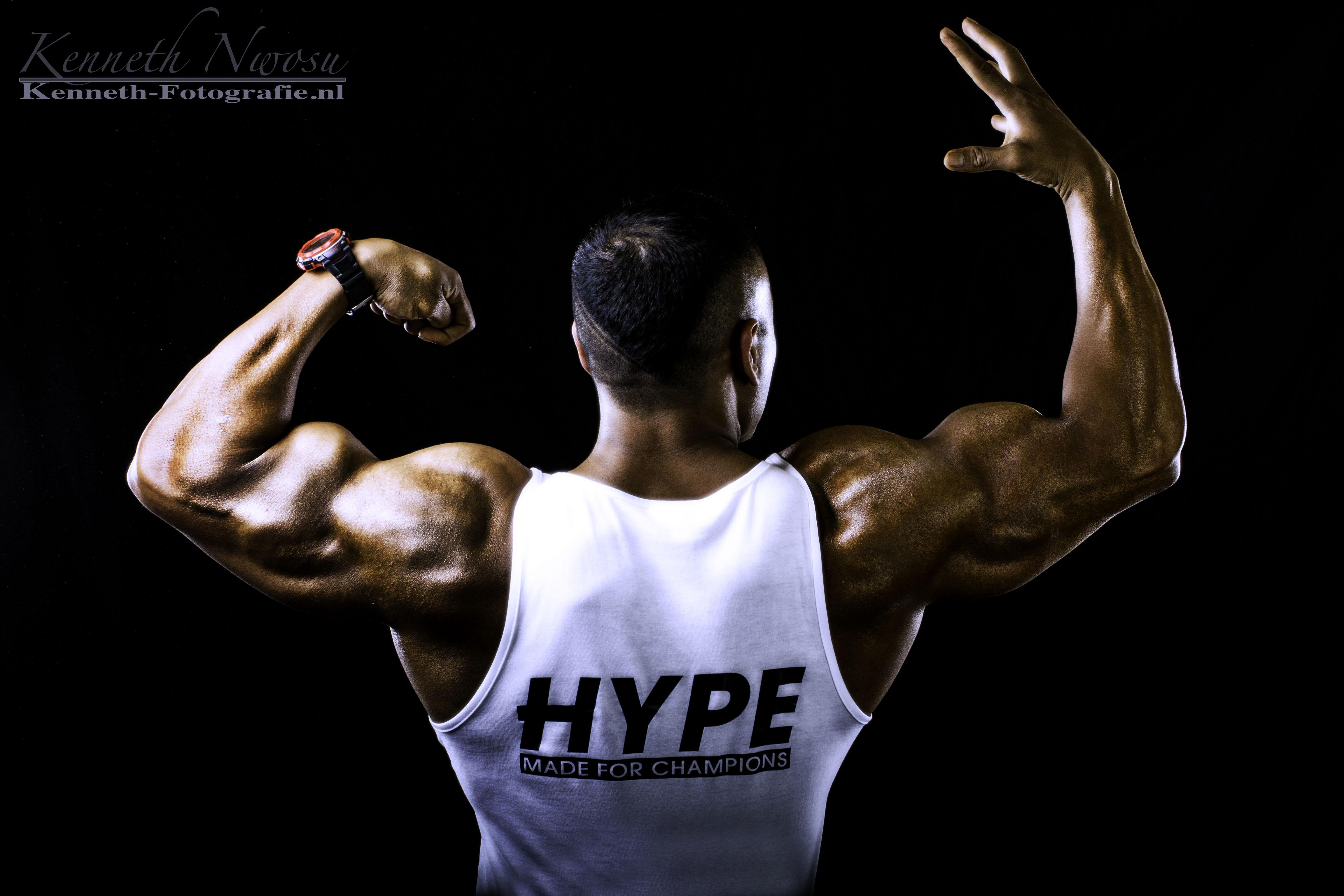 Team Hype Nutrition (fitness fotografie met Nabil Athman, Camil Saris)