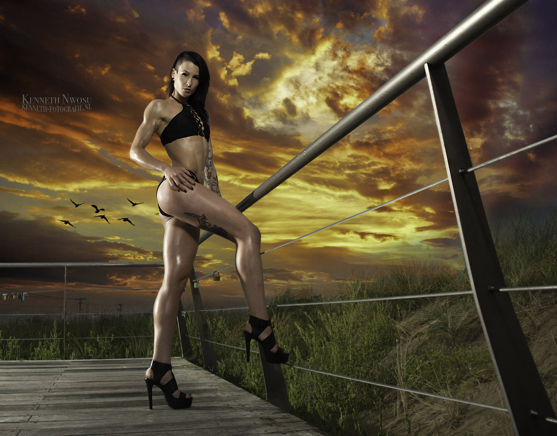 Bikini Beachshoot met Nova Adriana Smit
