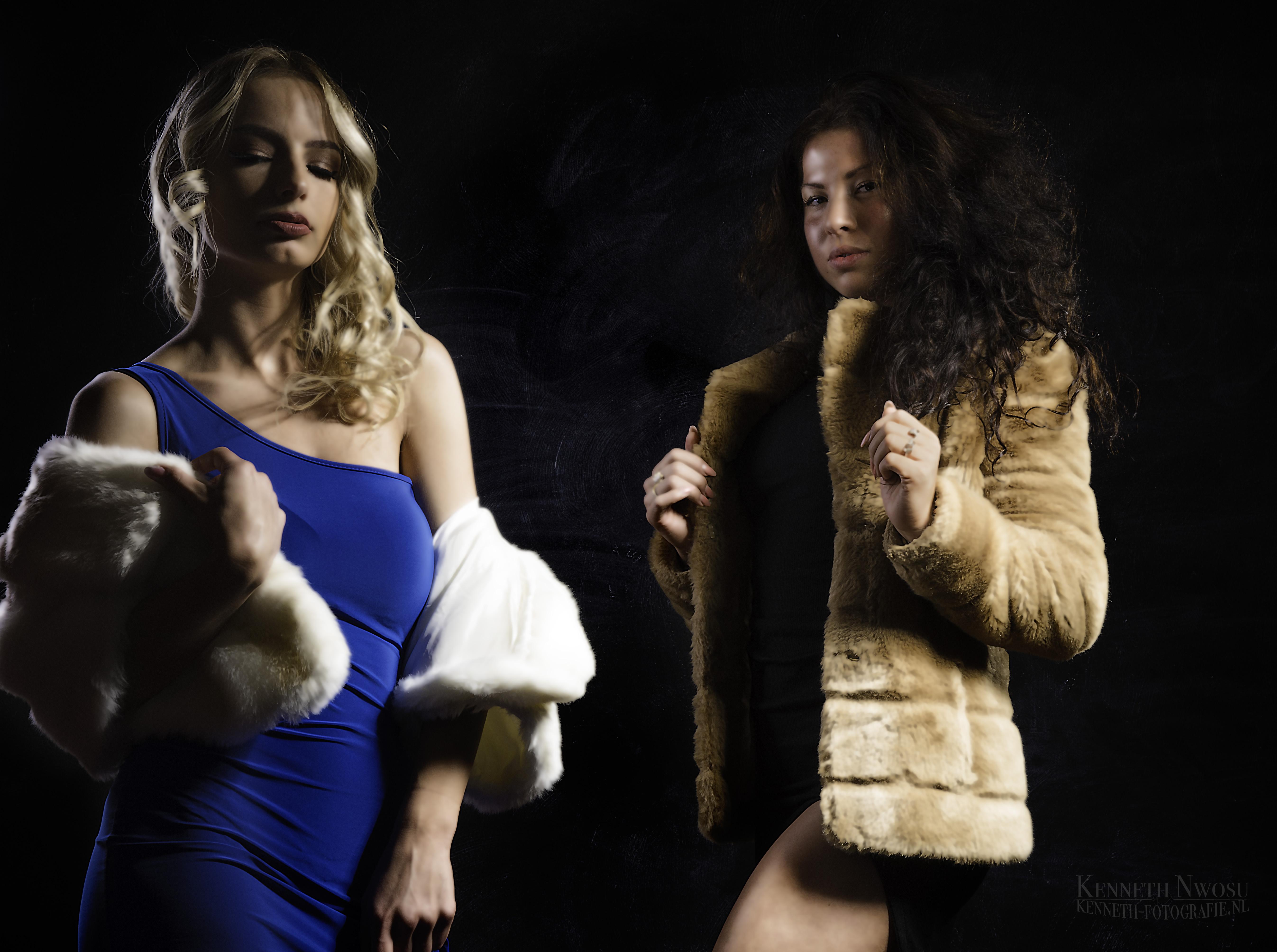 Fashion photoshoot met Amy en Liselotte