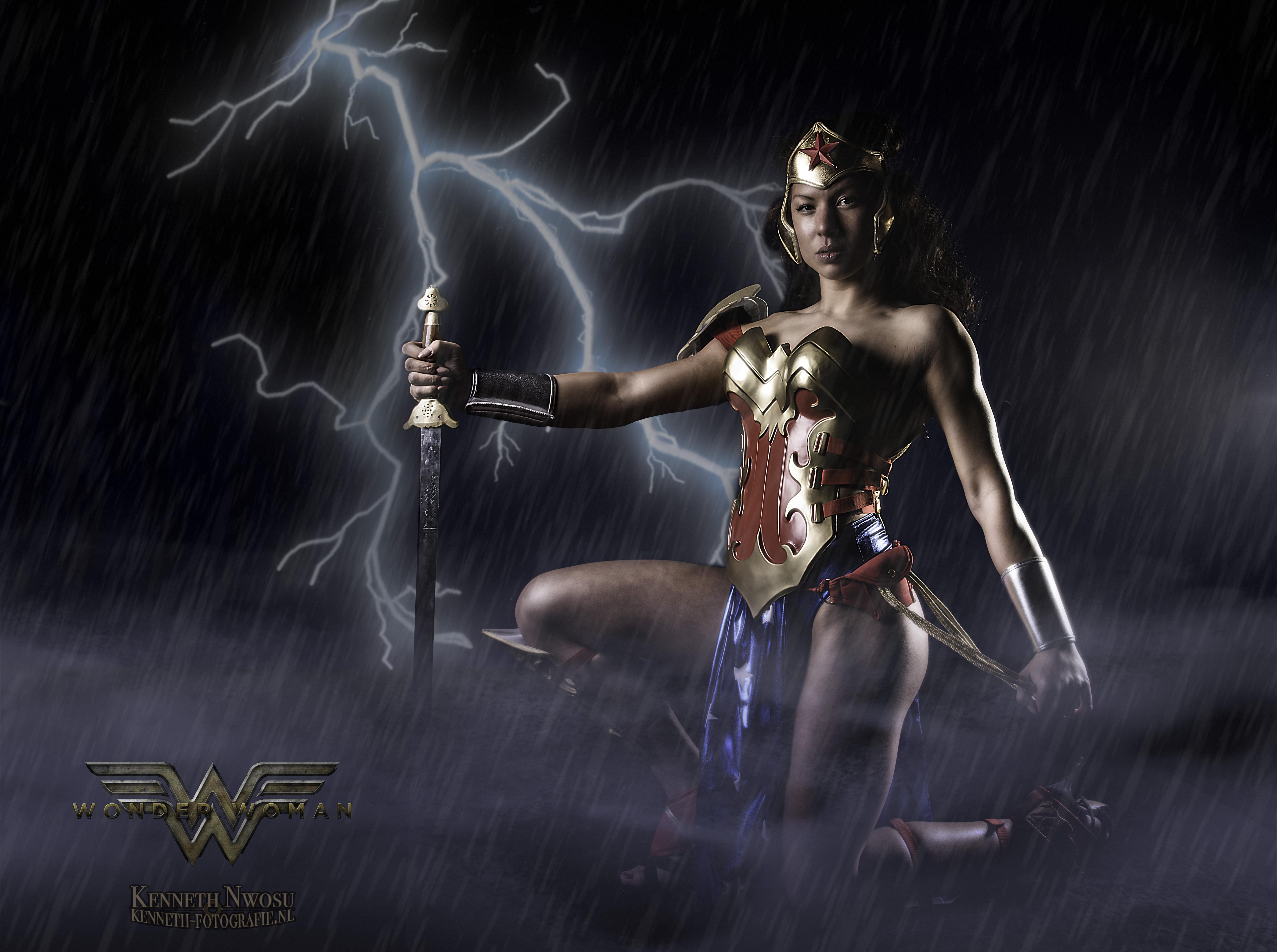 Wonder Woman photoshoot