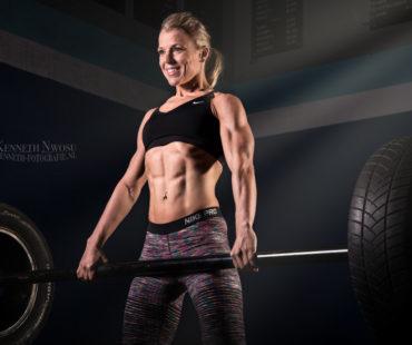 Fitness fotoshoot Christa van Dijke