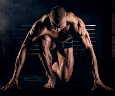 Fitness fotoshoot en videoshoot Till Schmidt