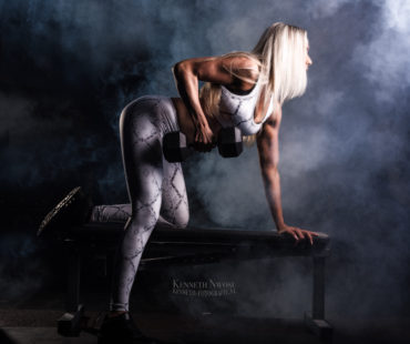 Fitness fotoshoot Shirley Meijer
