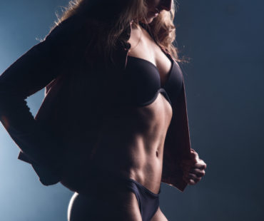 Fitness fotoshoot Shana Ebing