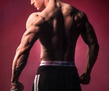 Robin Heemskerk bodybuilding fotoshoot
