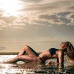 Strand fotoshoot