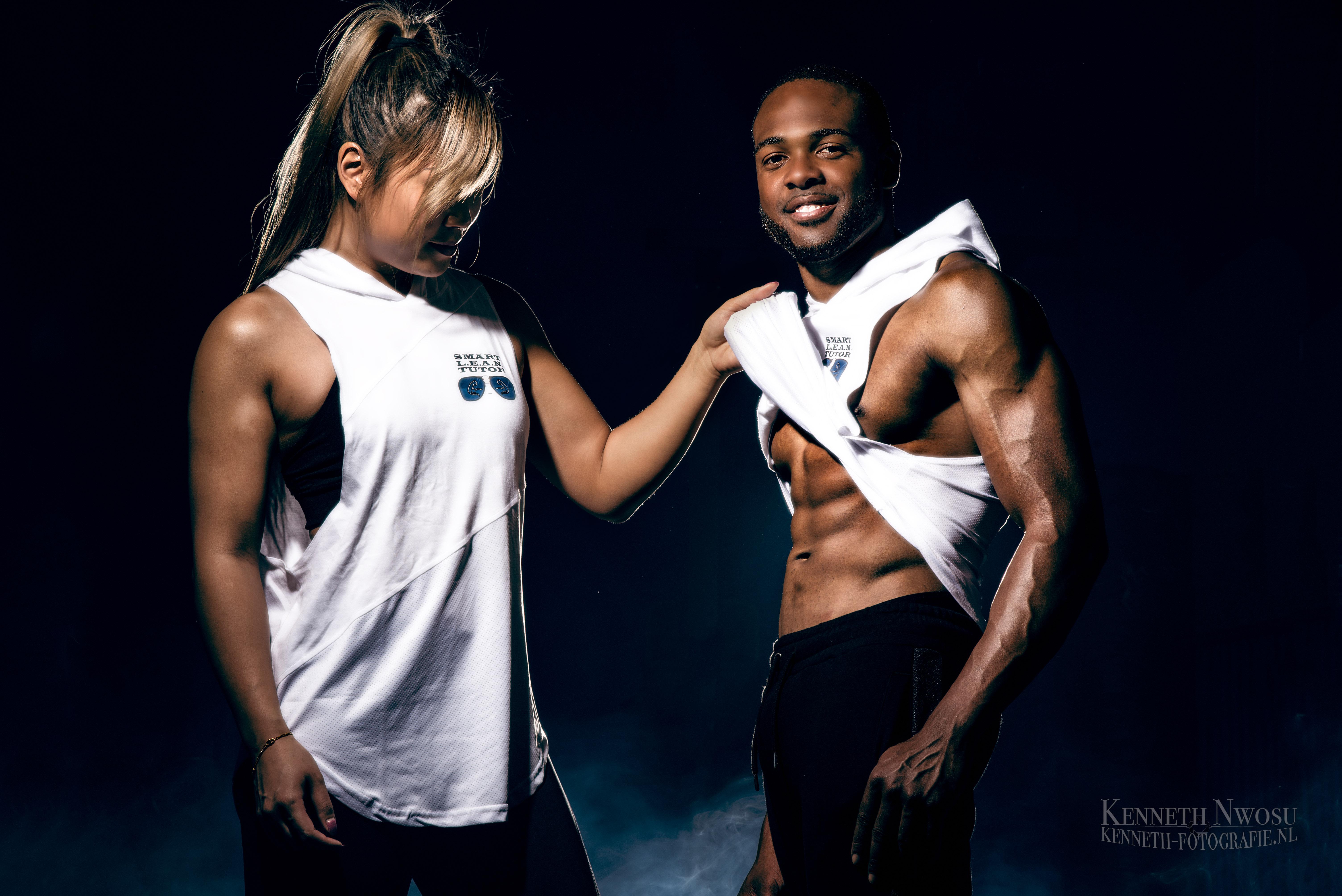 Fitness fotoshoot Smart Lean Tutor