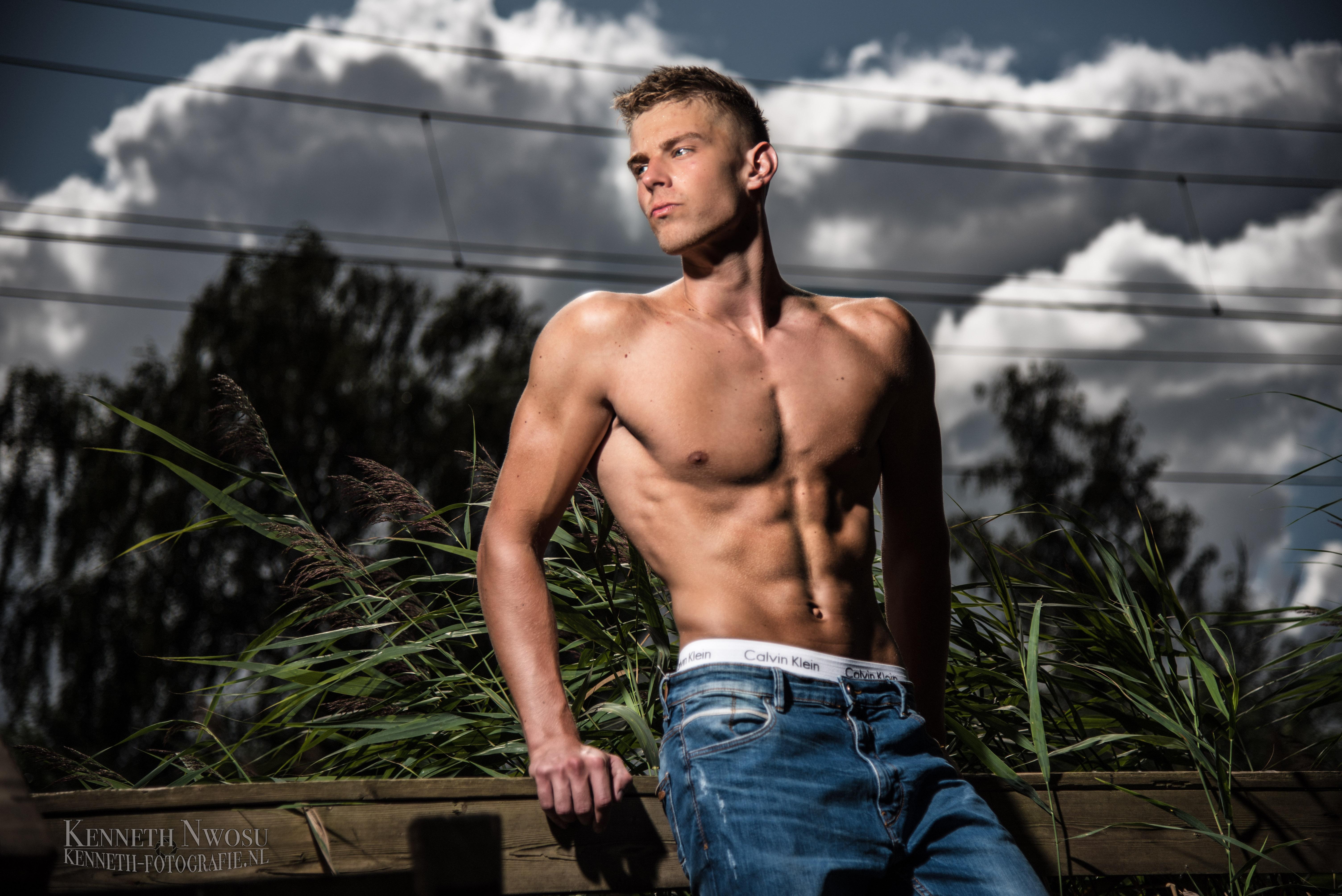 Fitness fotoshoot met Roald Piere