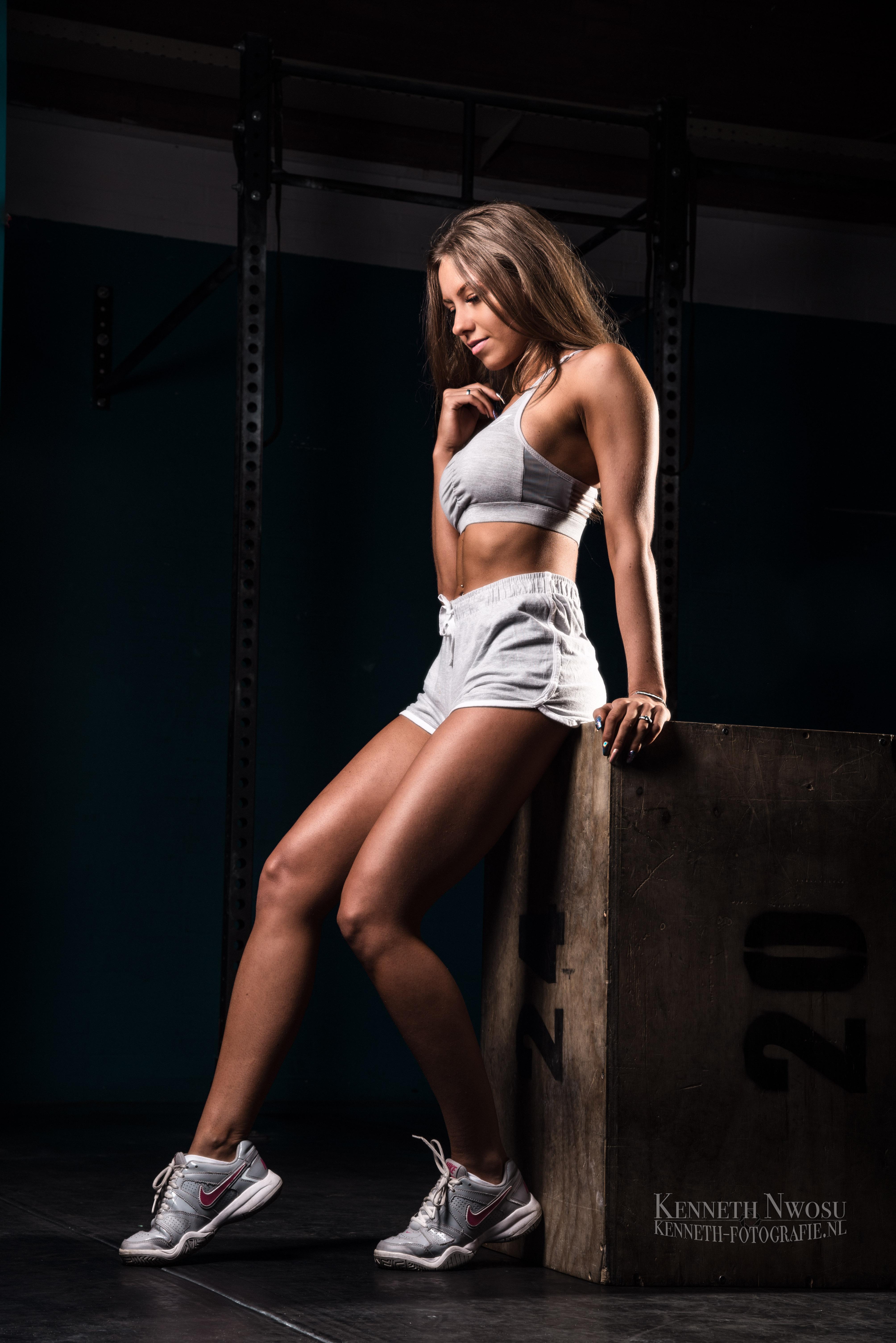 Fitness fotoshoot met Chantal Koggenhop