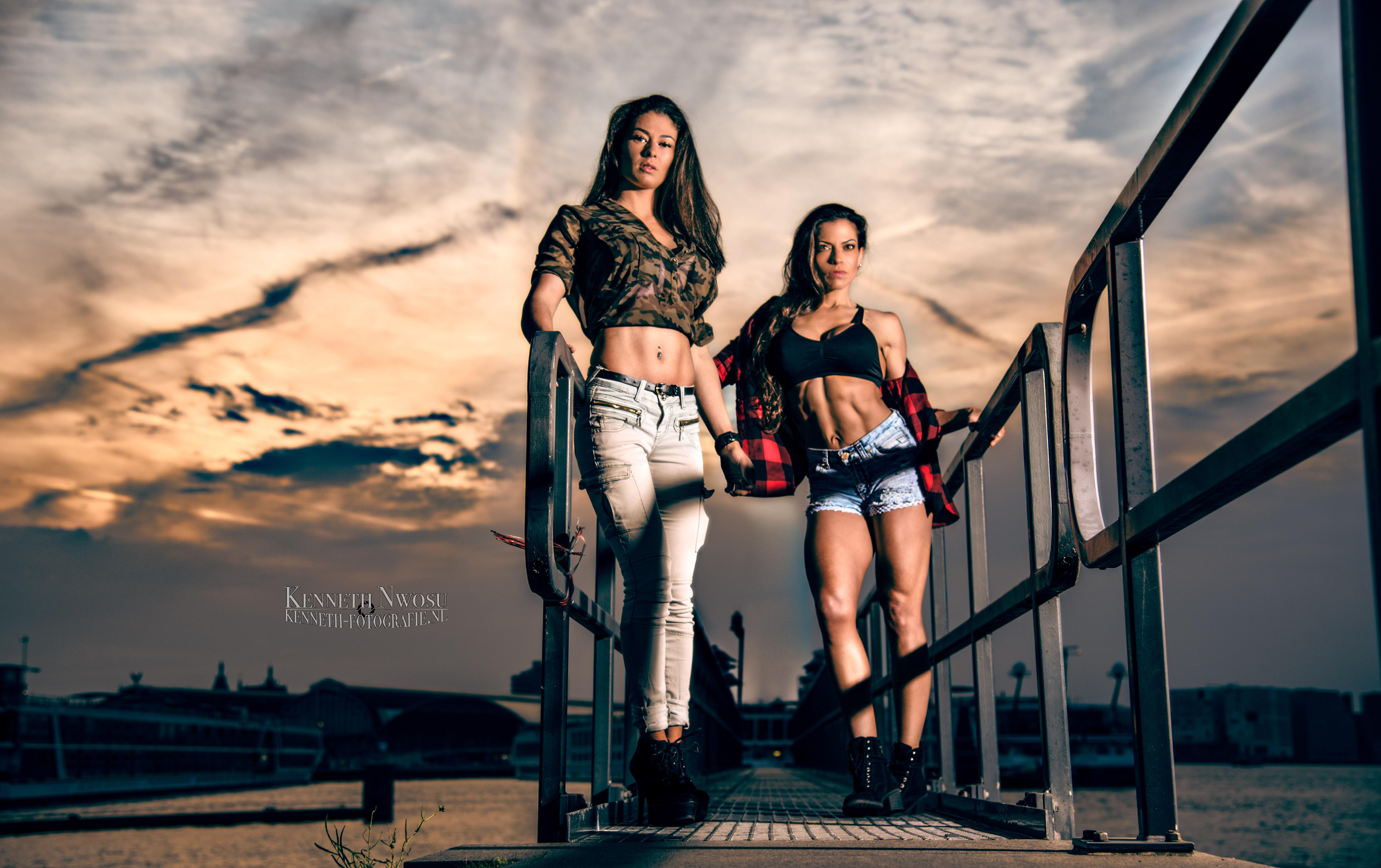 Fashion & fitness fotoshoot met Maaike en Anna Mary