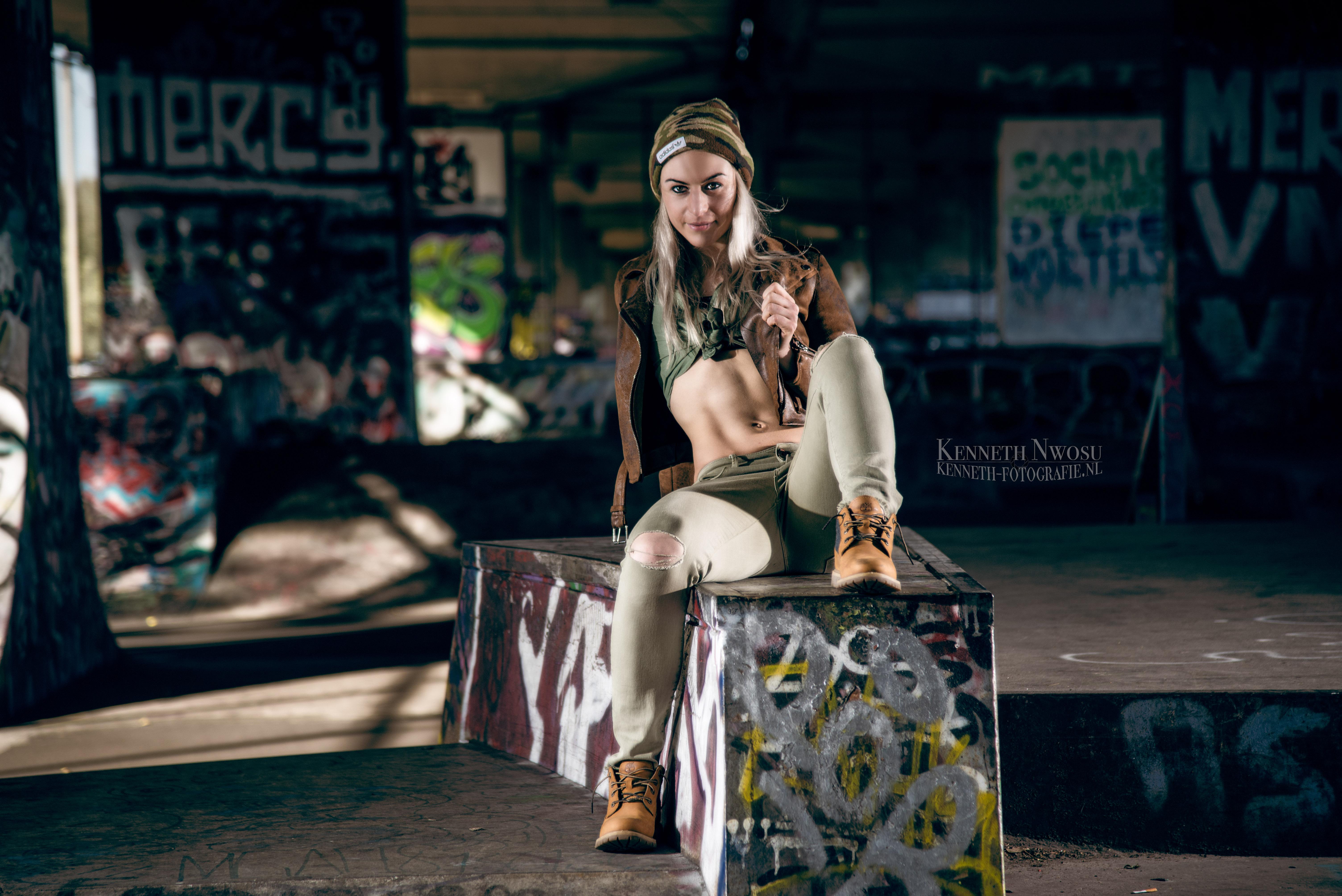 Fashion en fitness fotoshoot met Rowie Koers