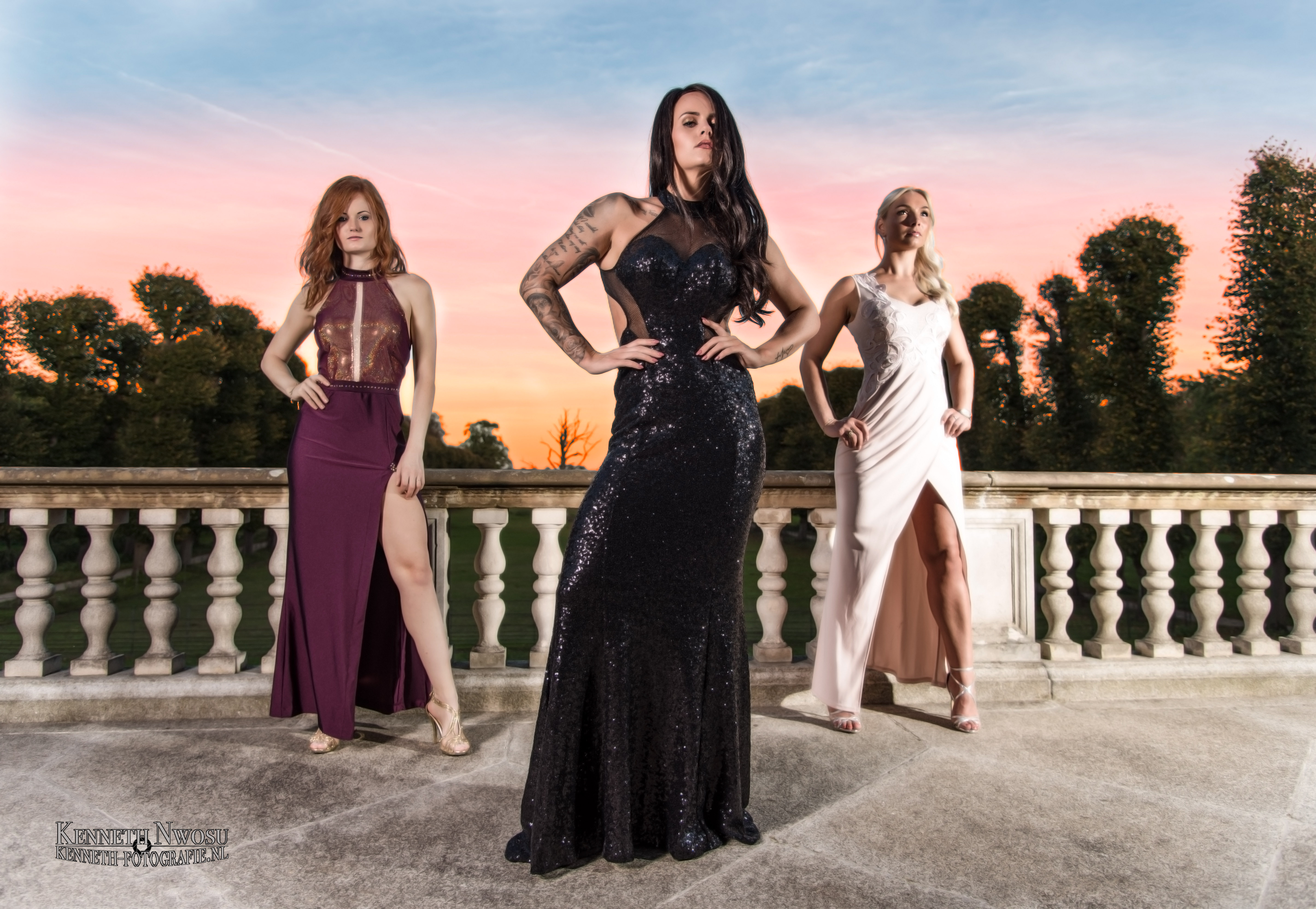 Herfst & fashion fotoshoot met Sylke, Shannen en Melissa