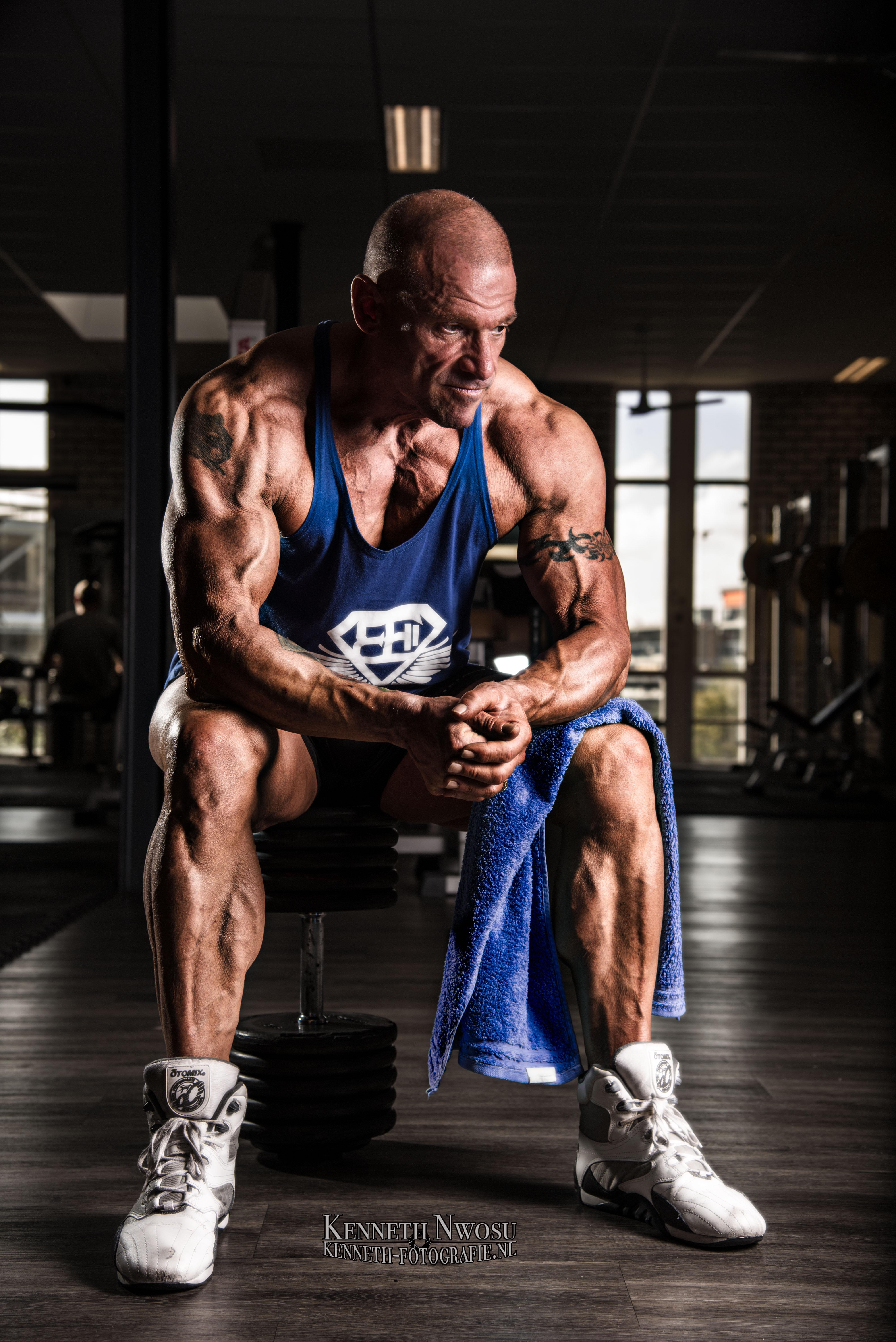 Bodybuild fotoshoot met Fred Kwakkel
