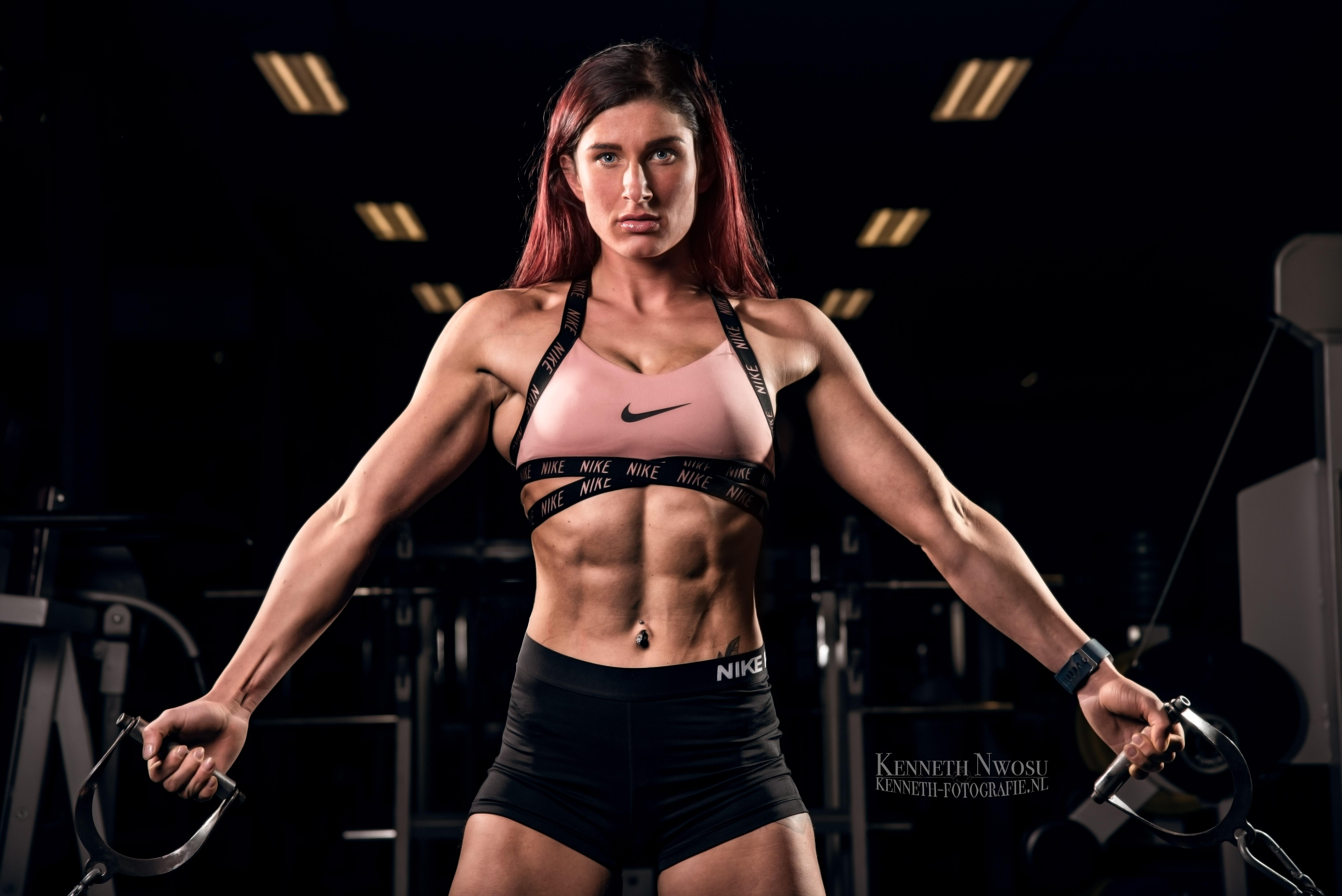 Fitness fotoshoot met Jacky Gevers