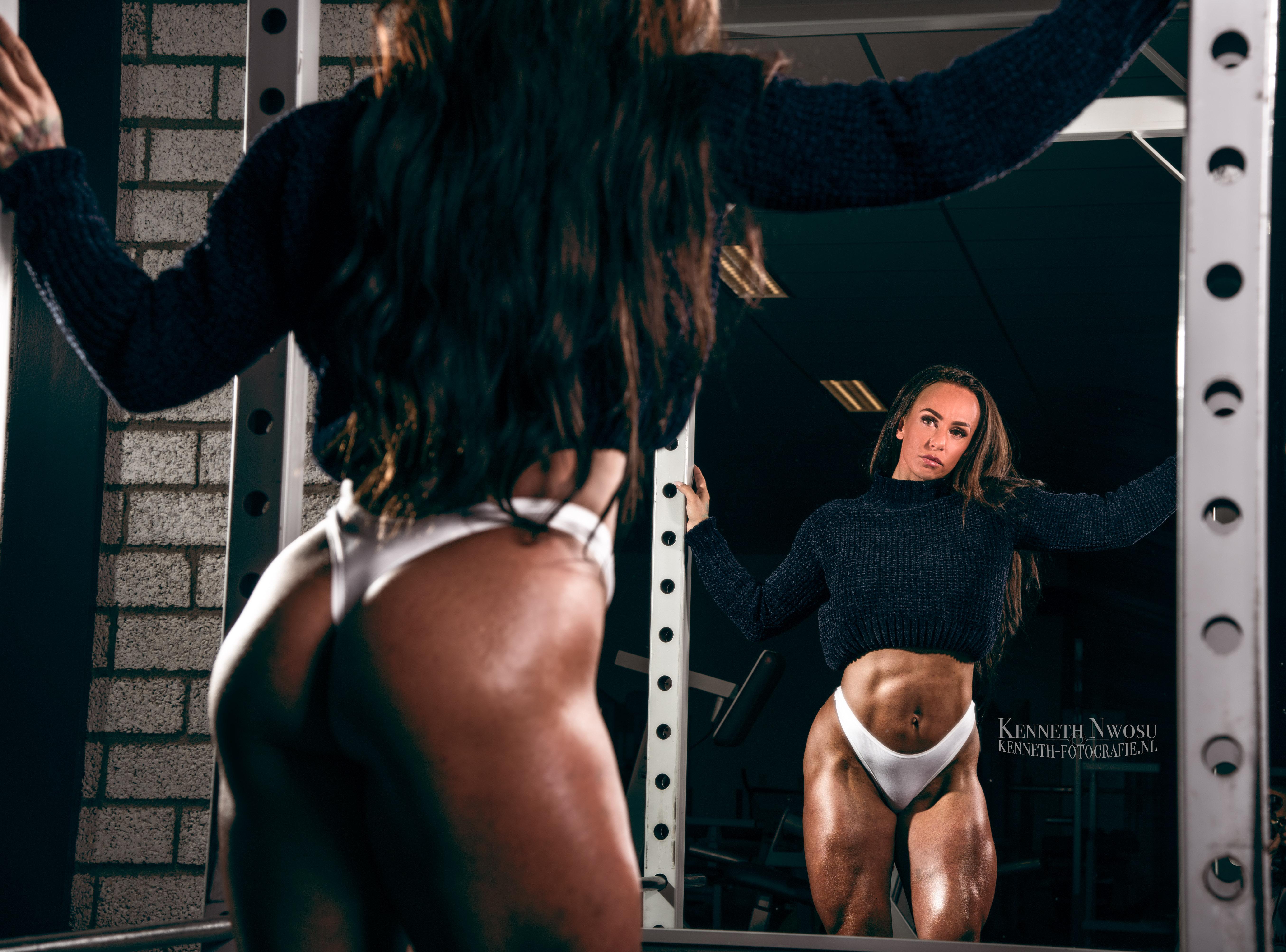Gym shoot met Annemiek Stuip