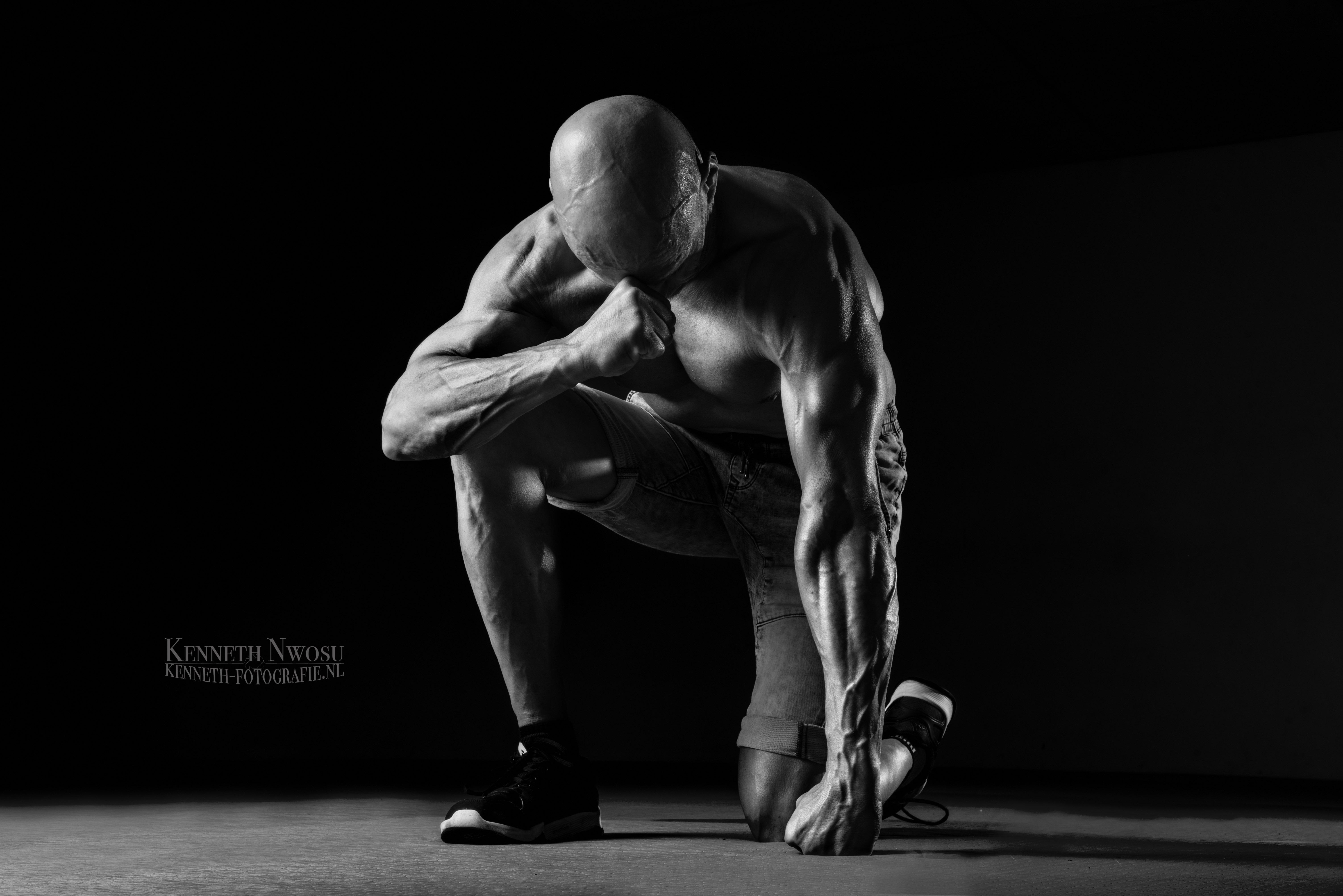 Fitness fotoshoot met Guido Klomp