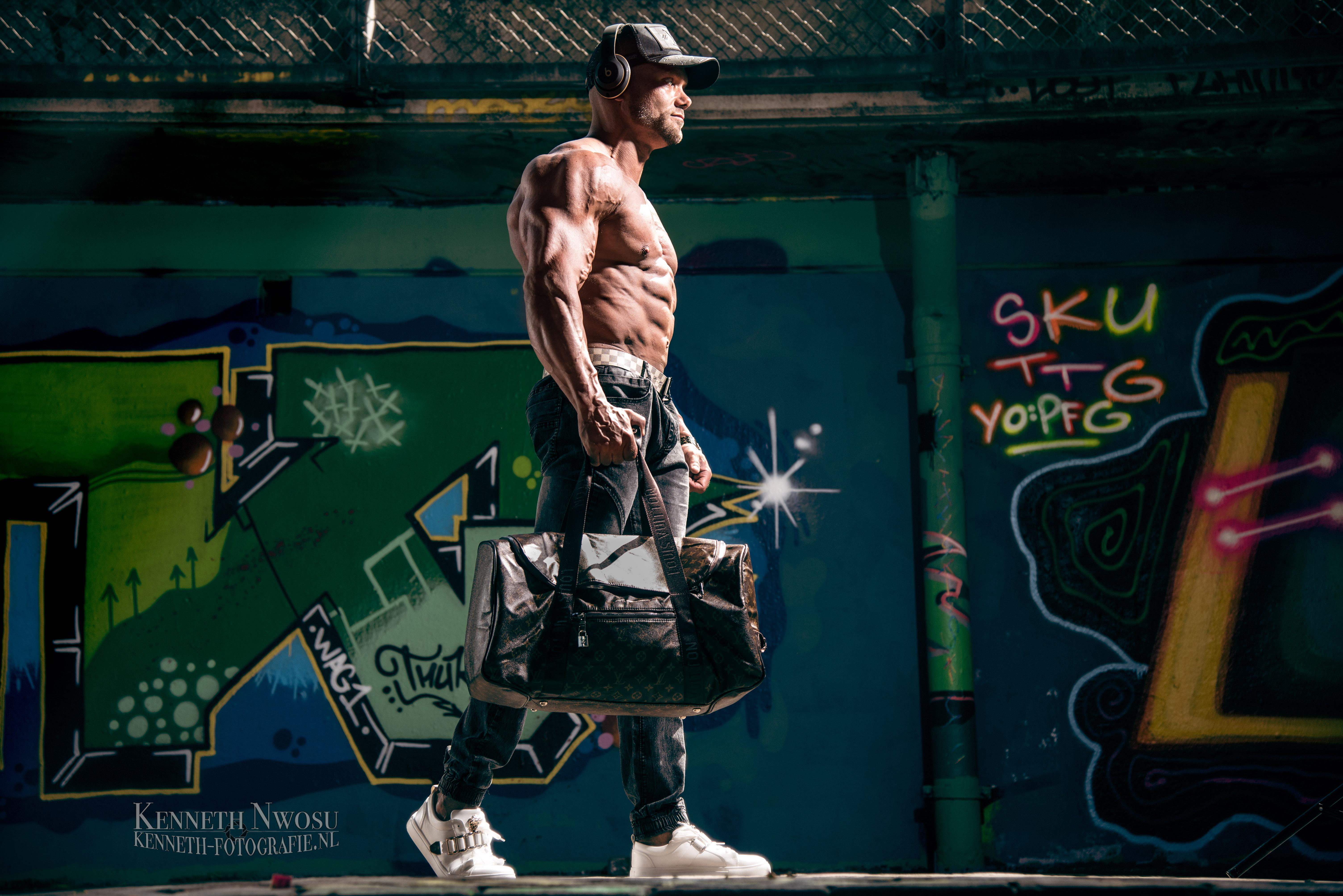 Bodybuilding photoshoot met Fokke Raap