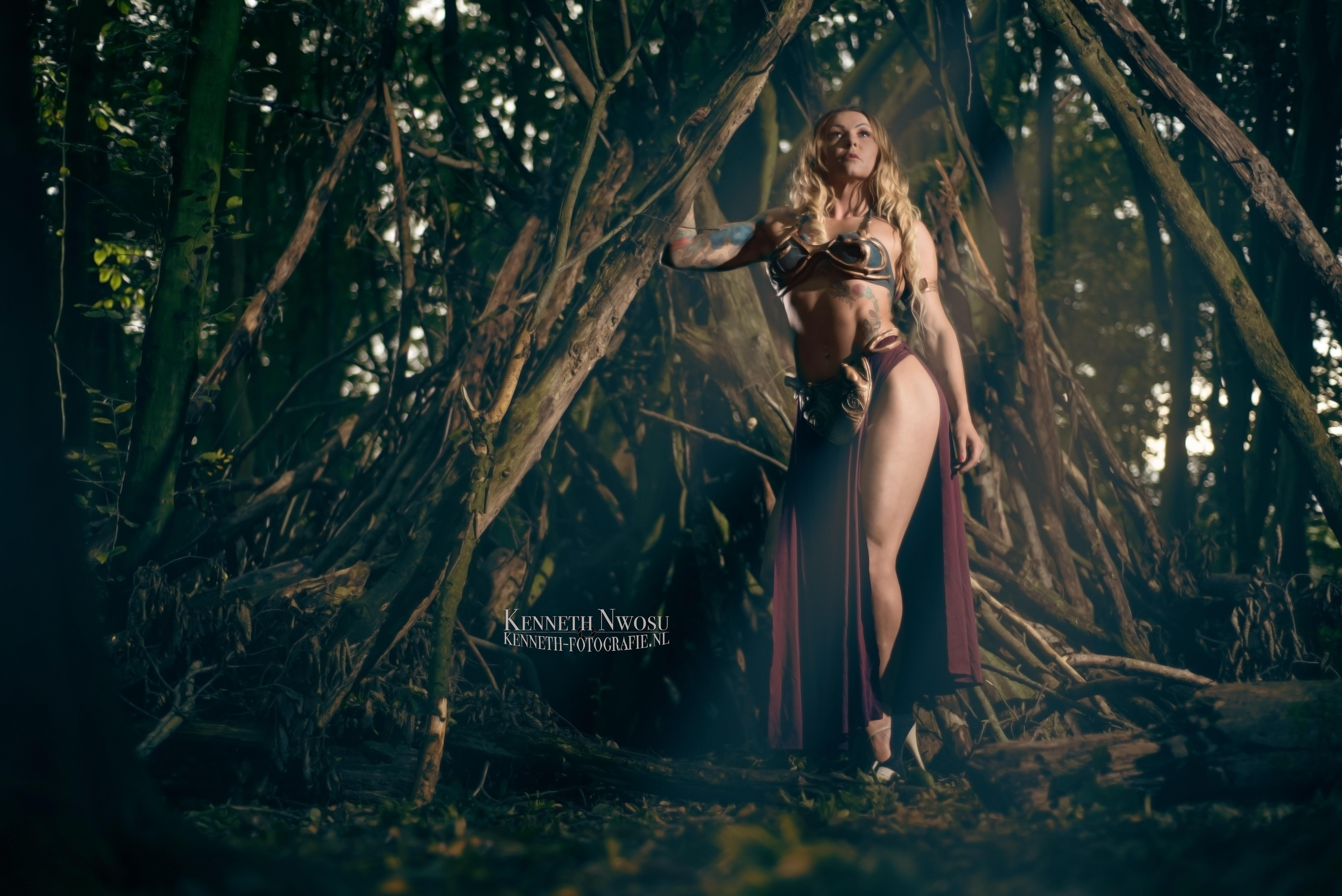 Cosplay fotoshoot met Magdalena