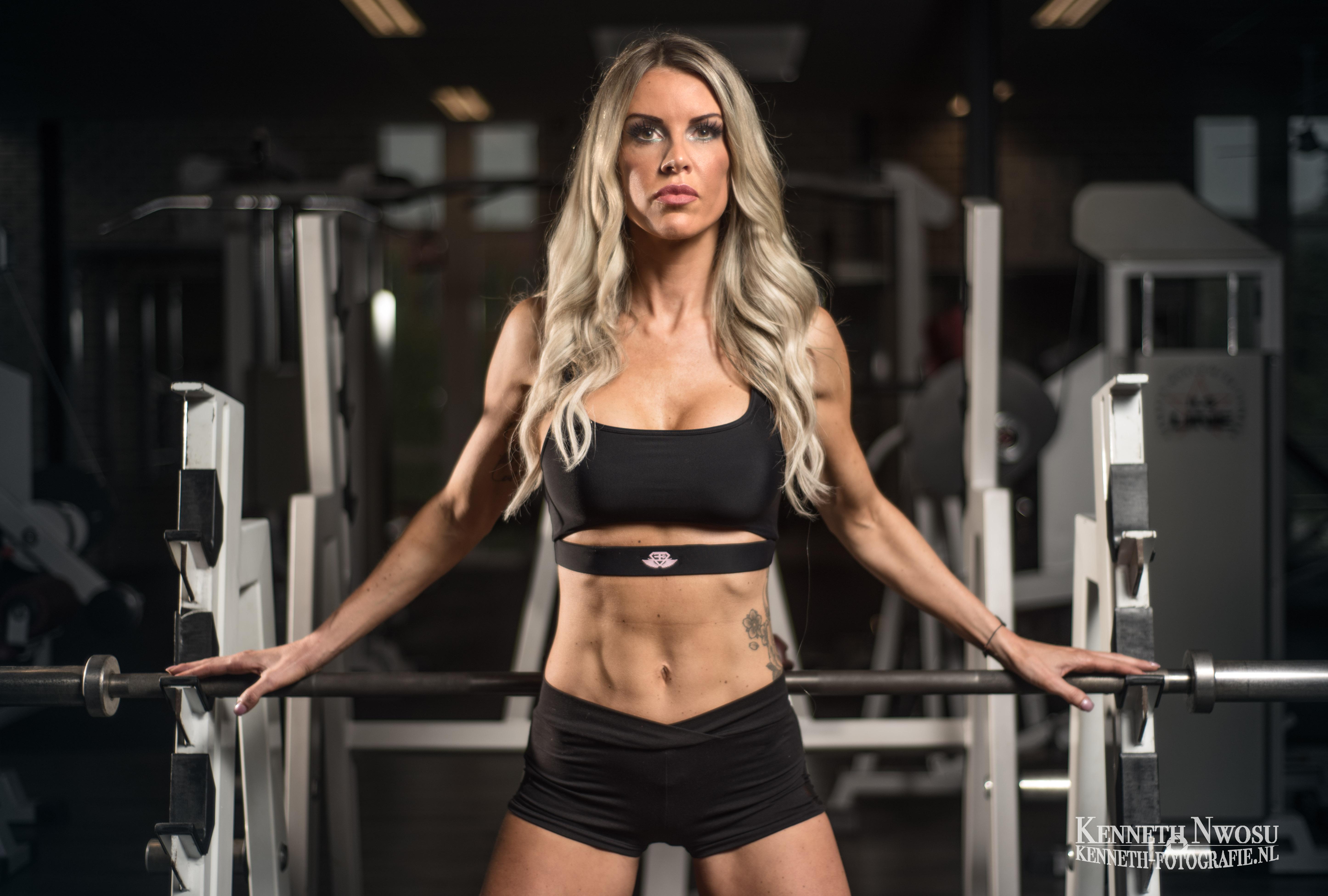 Bikini fitness fotoshoot Jessica