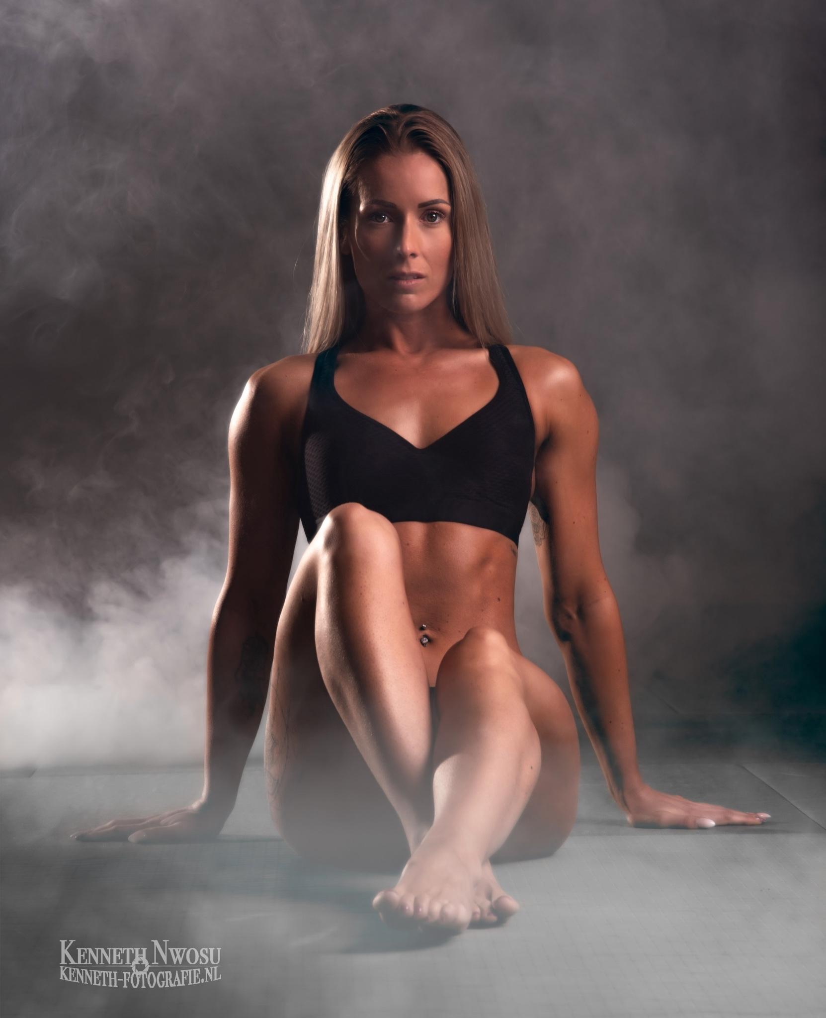 Fitness fotoshoot met Josanne