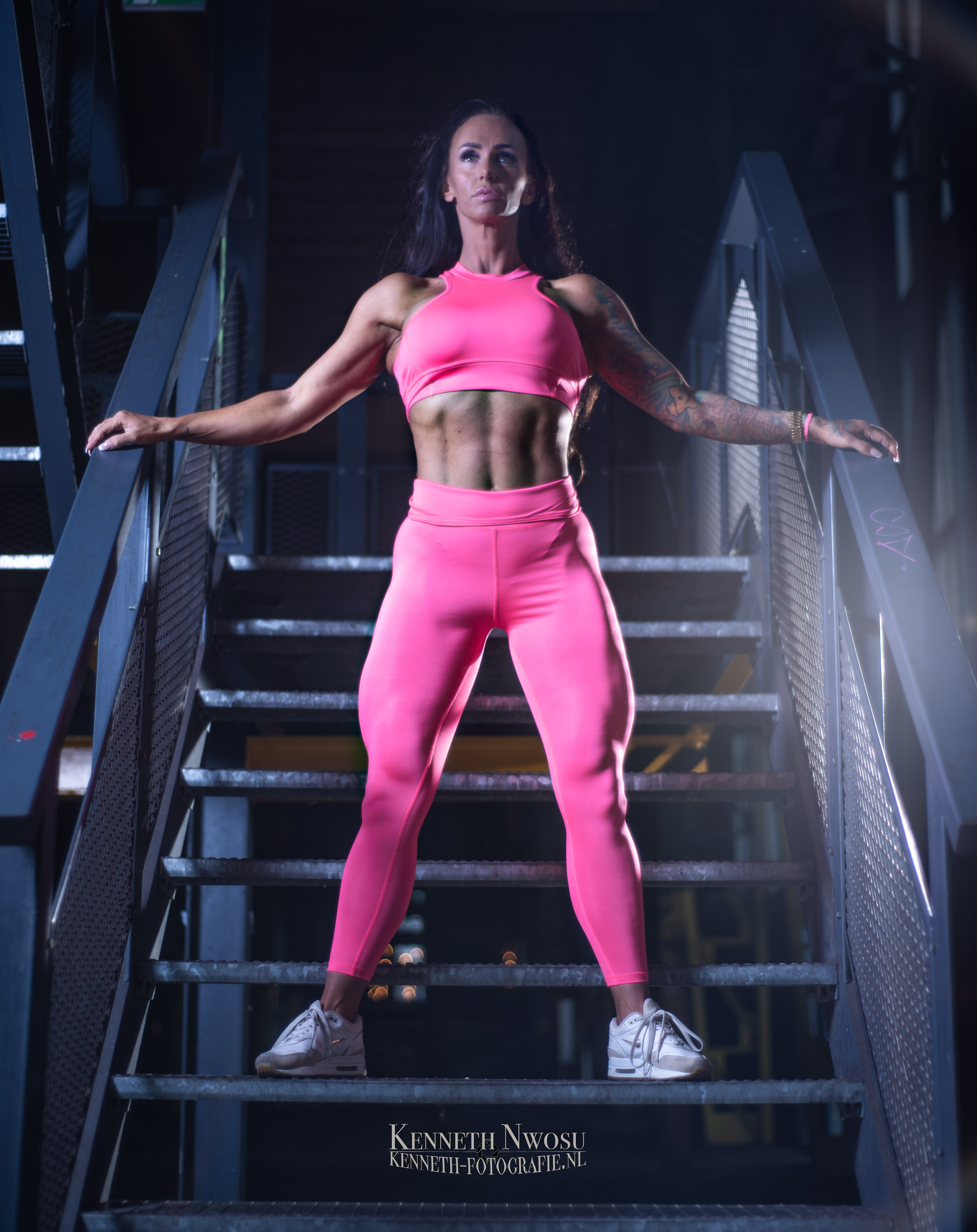Fitness photoshoot met Annemieke Stuip