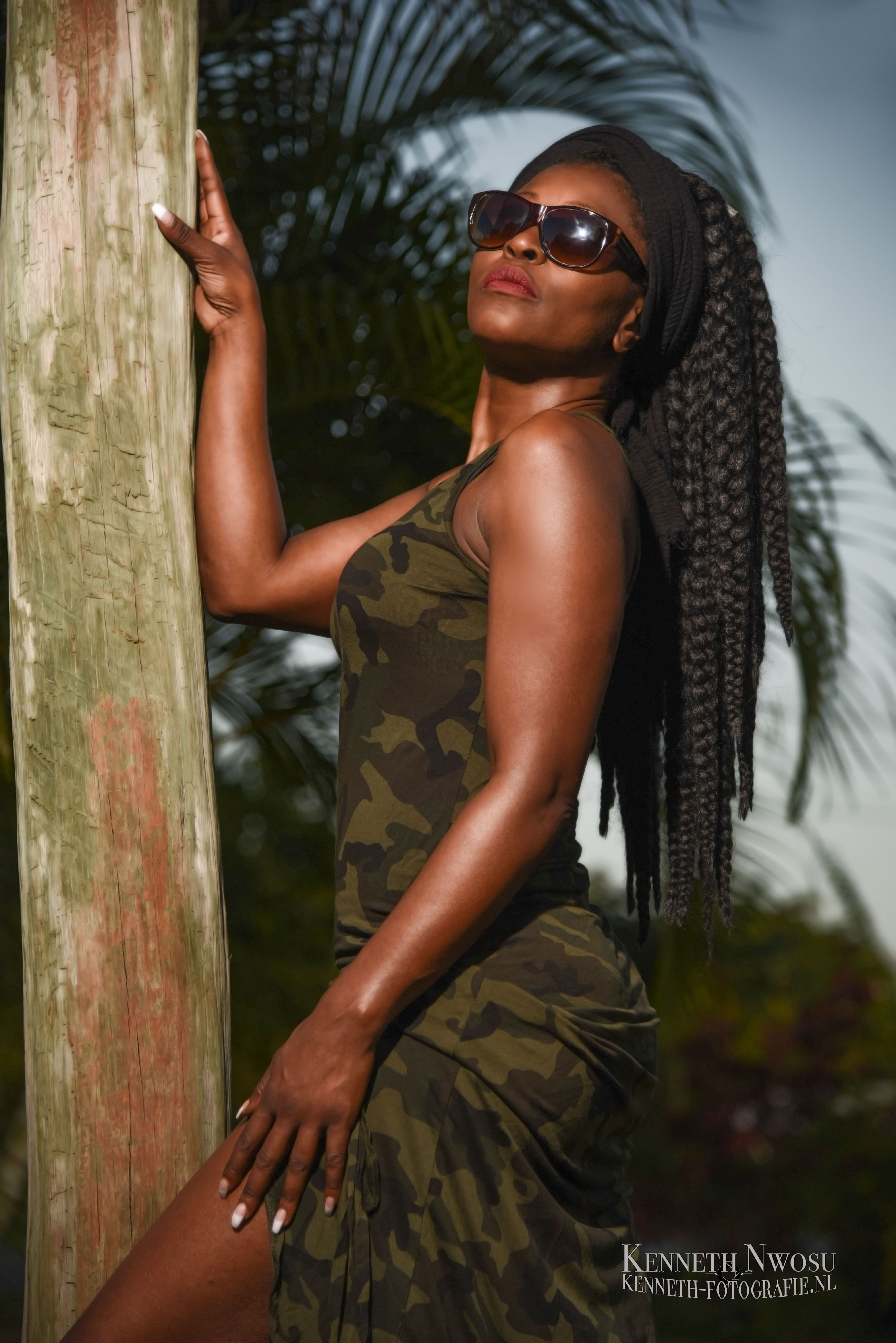 Suriname tuin shoot Diana