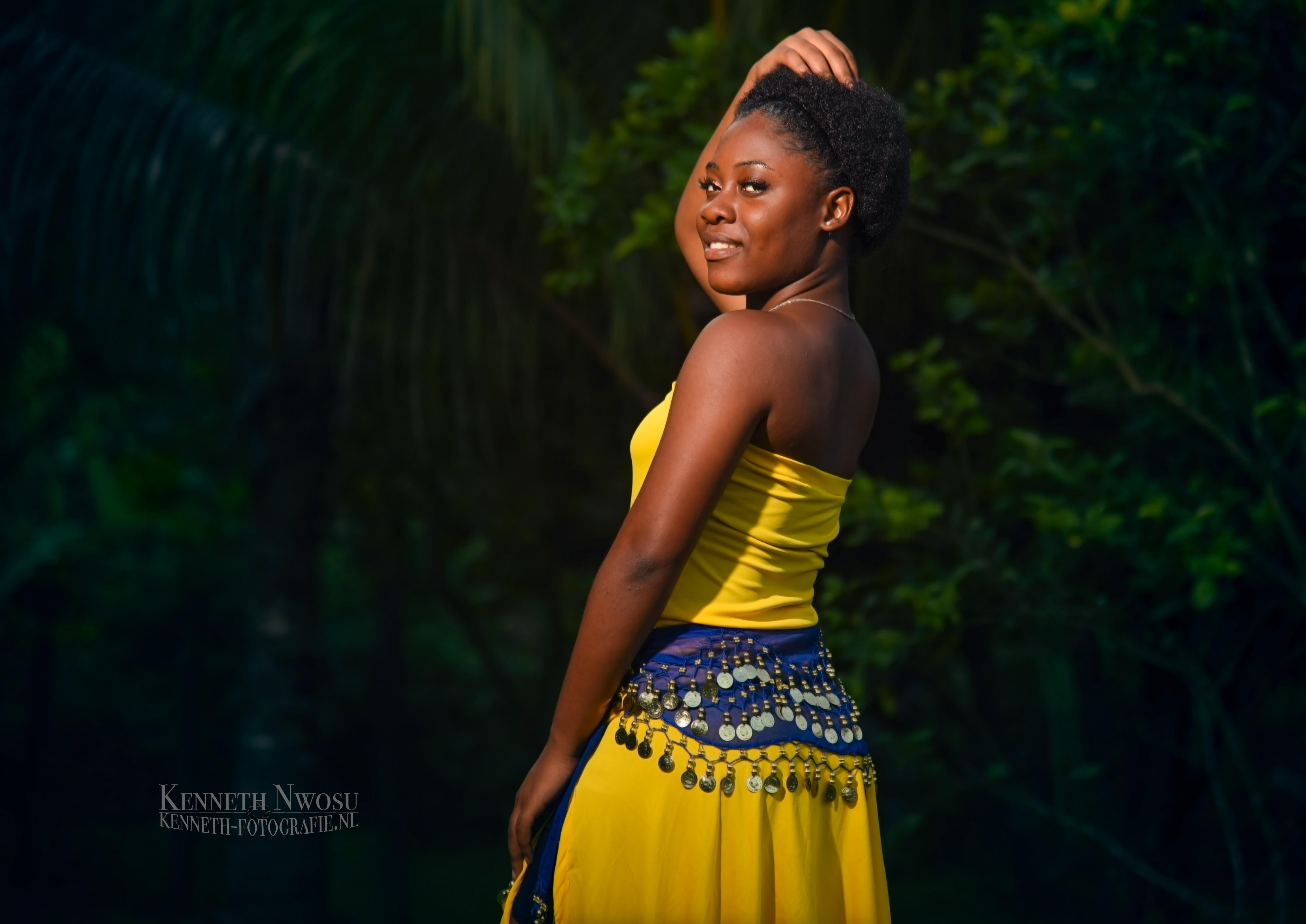 Suriname tuin shoot Affiëlle