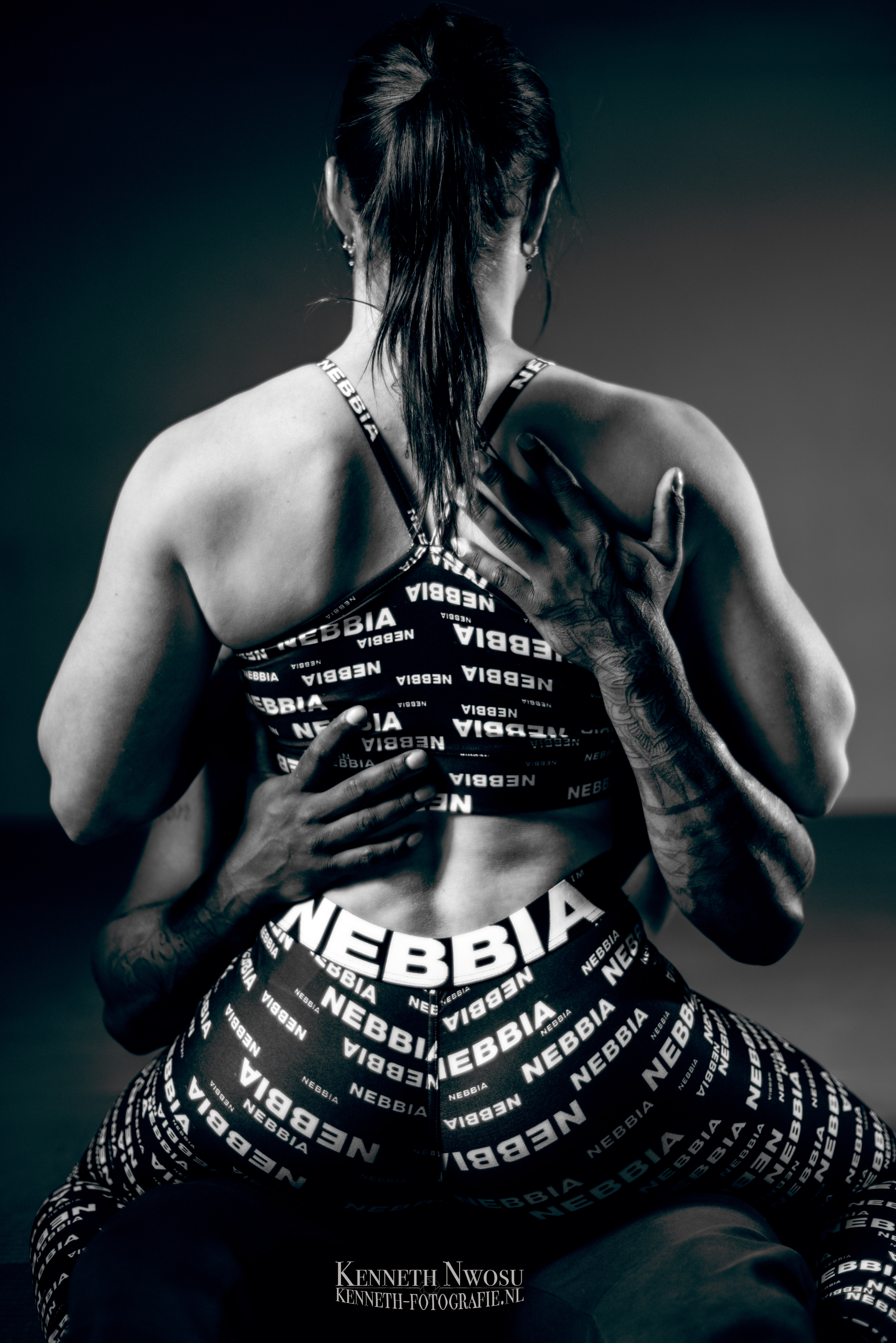 Fitness koppel fotoshoot met Lyon en Vera