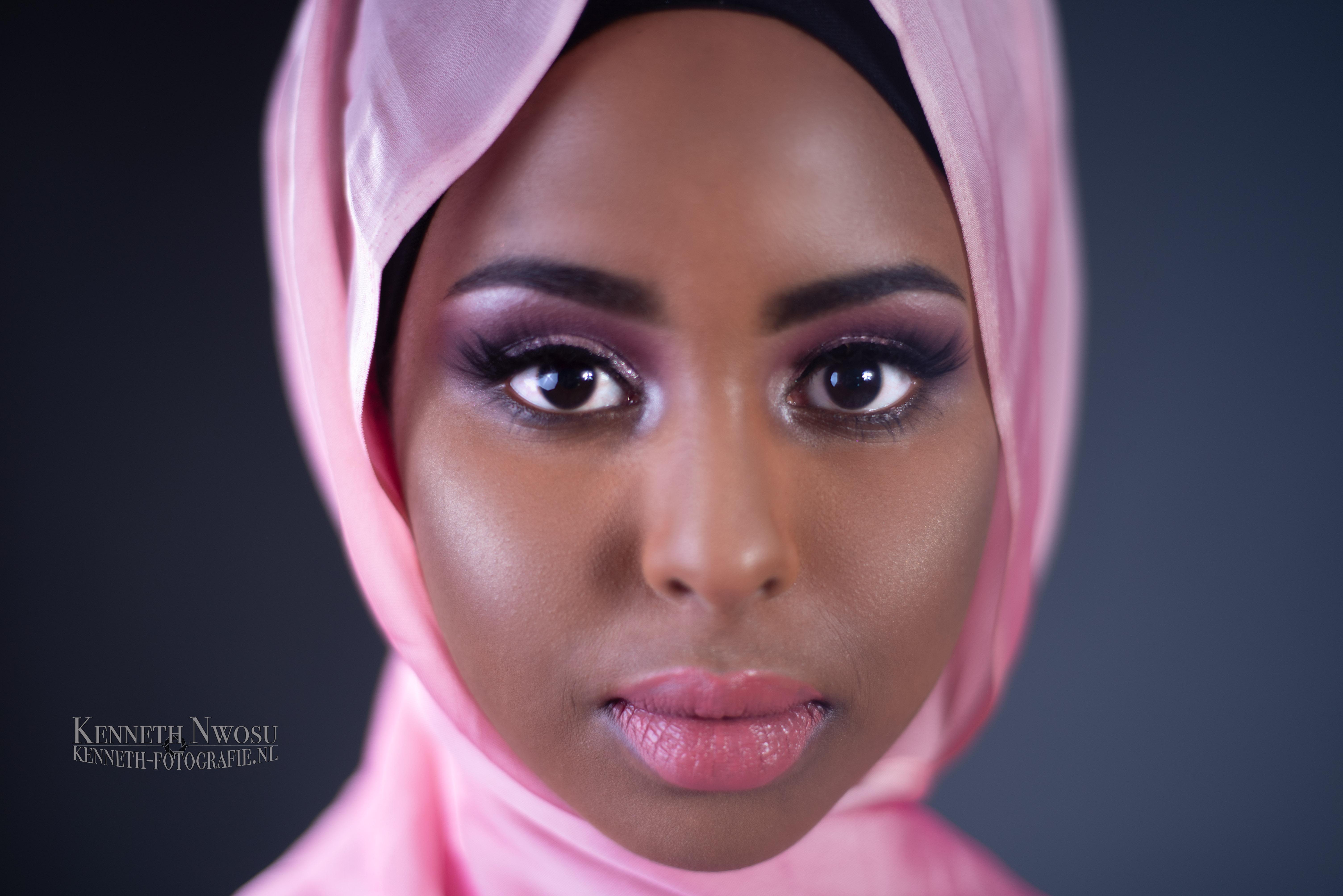 Beauty shoot met Faiza