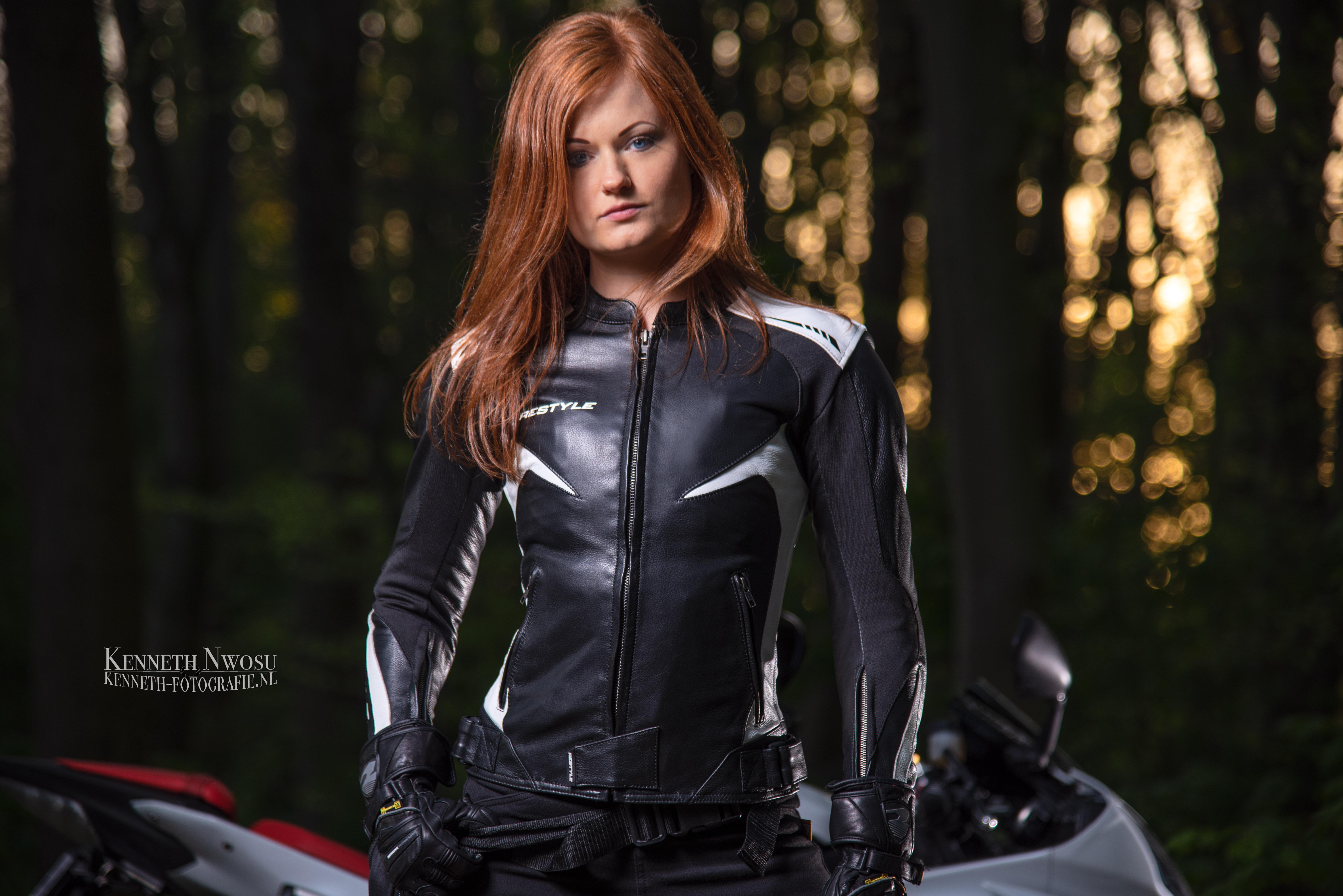 Motorkleding fotoshoot voor Restyle Wear