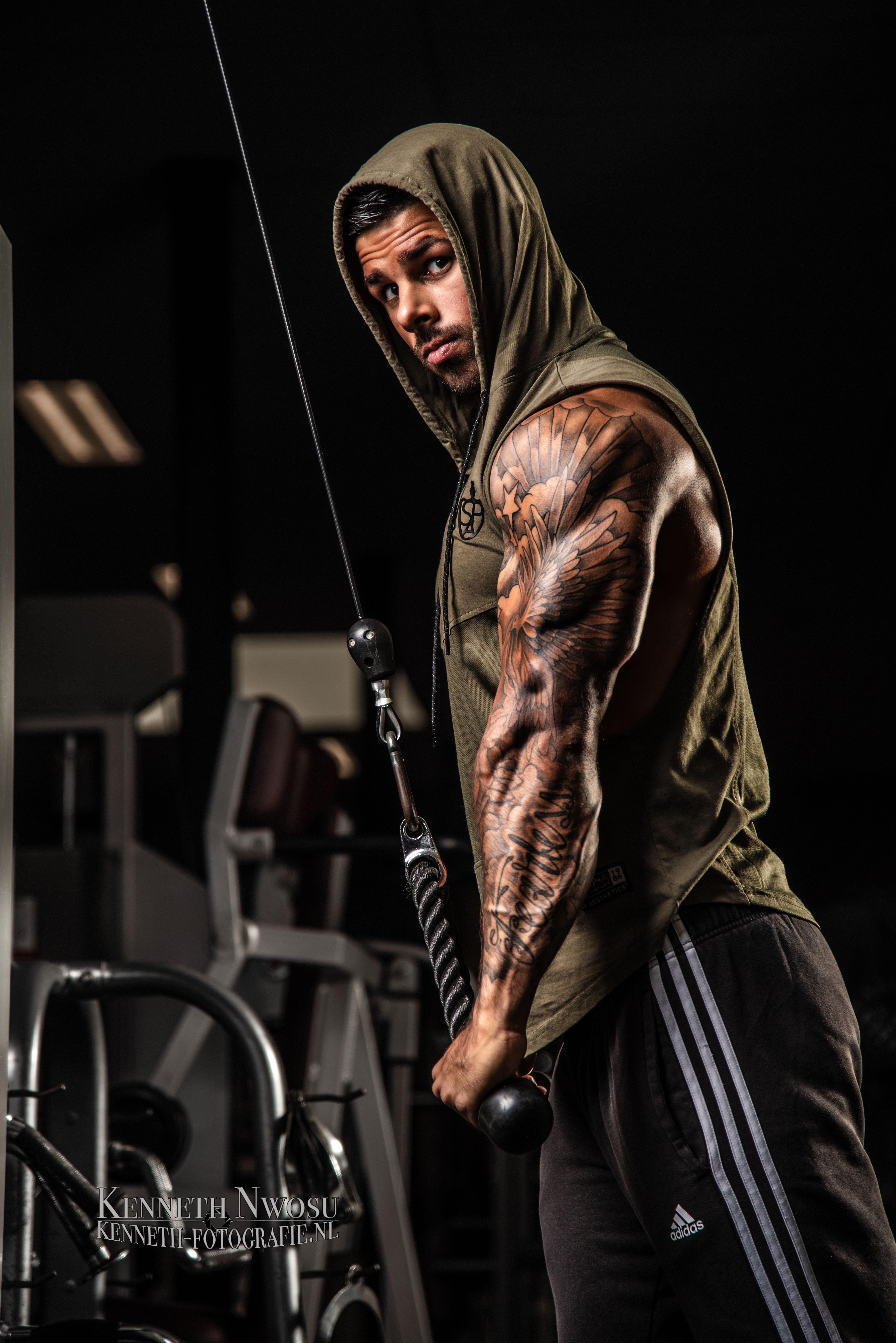 Fitness shoot met Jaimy