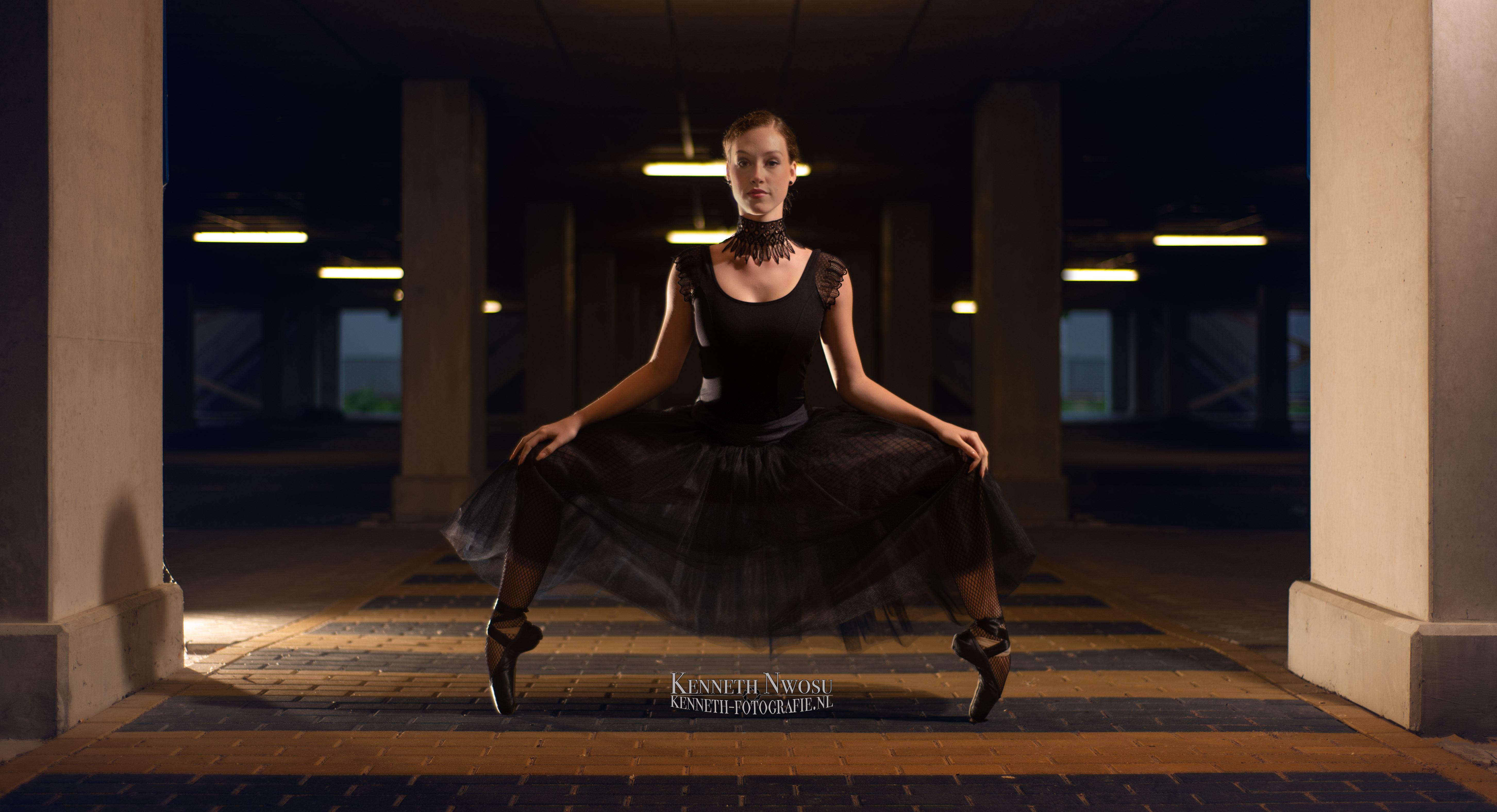 Ballet videoshoot met Bella Joy