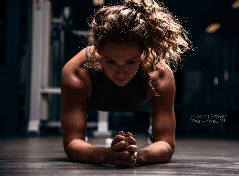 Fitness fotografie met Jill Hubner