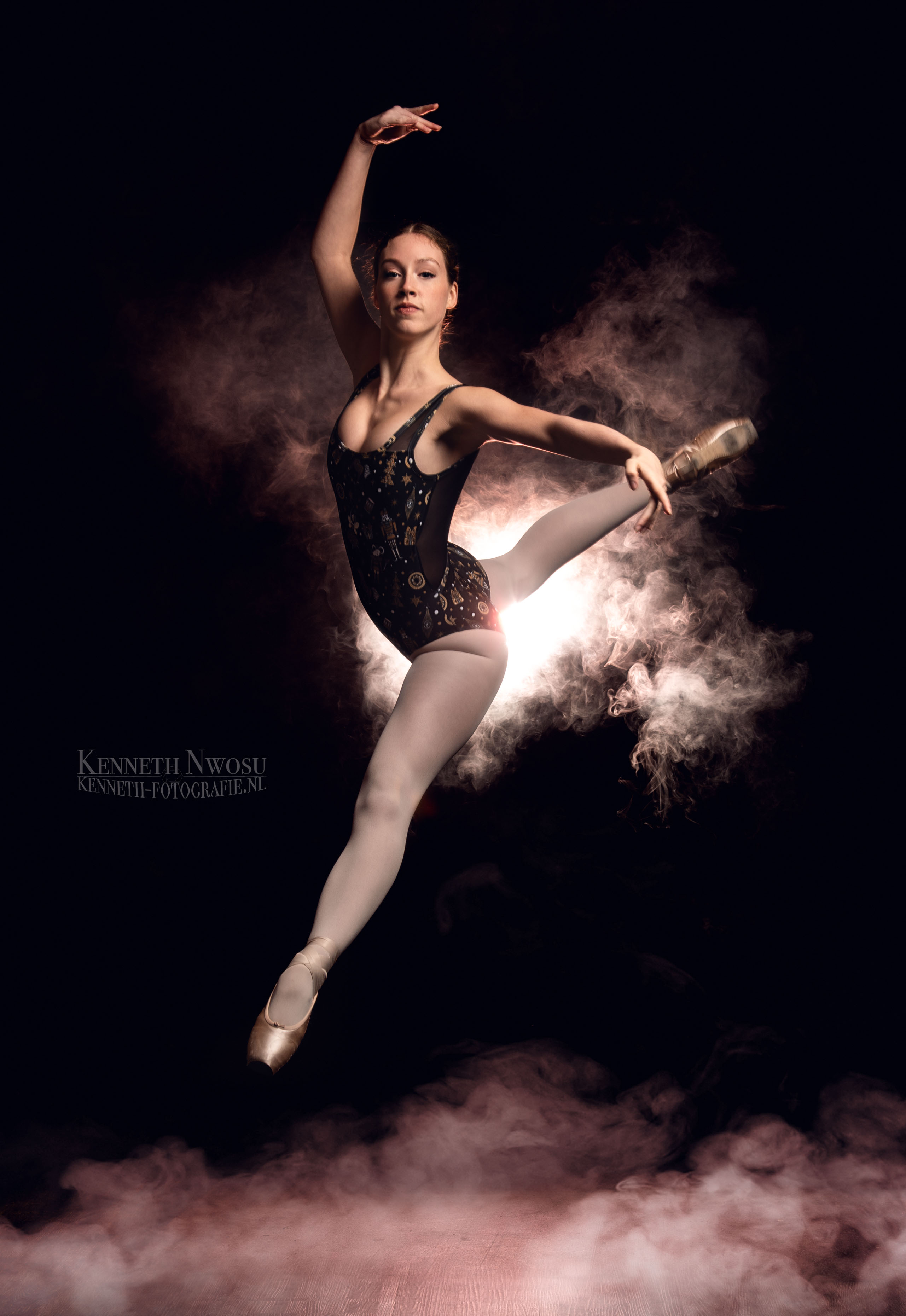 Kerst ballerina fotoshoot met Ella Joy