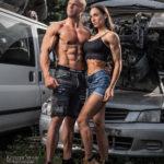 fotoshoot autobedrijf Romp